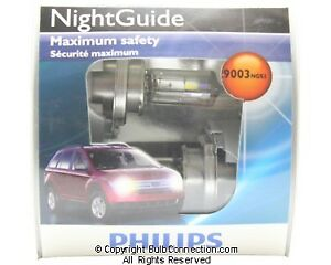 NEW Philips BC9731 9003 Night Guide 2-Pack 9003NGS2 Bulb