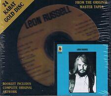 Russell, Leon Leon Russell DCC GOLD CD NEU OVP Sealed OOP + Bonus Tracks