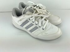 Adidas Oracle V Mens Tennis Shoes Size 8 White Classic Retro Trainers New #Clst