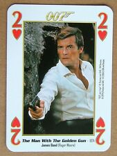 The man with the golden gun Roger Moore 007 James Bond Films 1-10 = 2 H