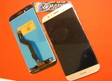 "GLS DISPLAY LCD+TOUCH SCREEN ORIGINALE HUAWEI PER ASCEND G8 ORO GOLD 5.5"" VETRO"