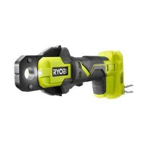 RYOBI PEX Crimp Ring Press Tool 18-Volt Lithium-Ion Dual LED Lights Belt Clip