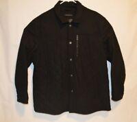 John Varvatos Men's Quilted CPO Jacket - Black XXL