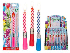 36 x Geburtstagskerzen spielen Happy Birthday Lied Musik Kerze Kinder Geburtstag