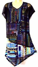 plus sz XXS/ 12 TS TAKING SHAPE Hand On Your Heart Tunic soft light 2in1 top NWT