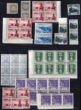 JAPAN 1940's COLLECTION BALANCE OF 55 INCLUDES PAIR Sc 318 ALL NEVER HINGED ONLY