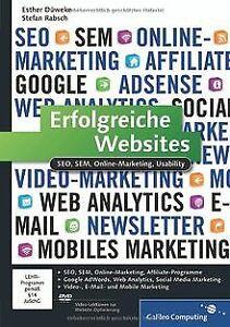 Erfolgreiche Websites: SEO, SEM, Online-Marketing, Usabi...   Buch   Zustand gut