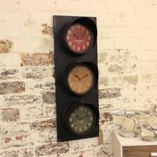 Orologi da parete rettangoli metallo , Caratteristiche aggiuntive 12 ore