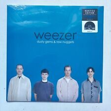 WEEZER - DUSTY GEMS & RAW NUGGETS  LP BLUE VINYL RSD 2019 RECORD STORE DAY