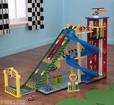 Play set by Kidkraft -- Mega Ramp Racing set by Kidkraft - wood