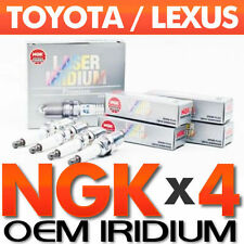 4 - NGK Laser Iridium Spark Plugs for Toyota OEM UPGRADE SET More Power/Mileage