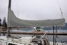 Sunbrella Cadet Grey Mainsail Cover 9-10' Custom Made