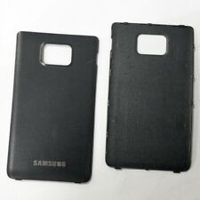 Battery Cover For Samsung Galaxy S2 i9100 Black Official Back Replacement