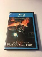The Girl Who Played With Fire (Blu-ray Disc, 2010)
