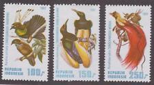 Indonesia 1982 Scott #1182-4 - Birds - MNH
