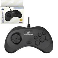 Retro-Bit Official Sega Saturn Controller - Black