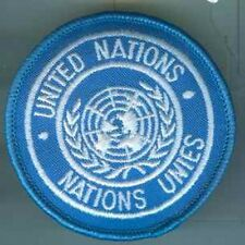UN:Armabzeichen:2-sprachig,dänisch. 70 mm 3 Stück
