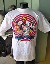 Vintage LOONEY TUNES T-Shirt 1993 NOS Taz Porky Bugs Foghorn Fudd Daffy +  Sz. L
