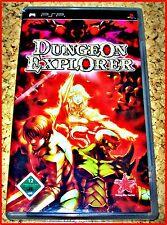 Sony PSP mazmorra Explorer * RPG con más de 700 rüstgegenständen * Primera edición *