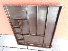 vintage SUISSE CASIER PLAT de RANGEMENT de TIROIR en bakelite CASE bureau OFFICE