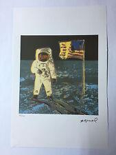 Andy Warhol Litografia 57 x 38 Arches France Timbro Secco Galleria Arte A144