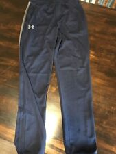 Under Armour Mens Small Training Workout Loose Fit Sweat Pants Blue