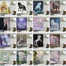60x72'' Unicorns Bathroom Waterproof Fabric Shower Curtain 12 Hooks & Bath Mat