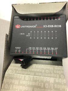 UNITRONICS I/O EXPANSION MODULE IO-DI8-RO8  8DI IN/ROUT