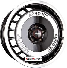 4x Felgen RONAL R50 AERO 7,5x16 ET38 5x100 Schwarz Frontkopiert 68.00 Alufelgen
