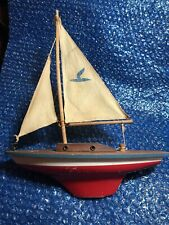 Vintage 1940s / 50s Seifert Small Pond Boat Made In Germany