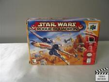 Star Wars: Rogue Squadron (Nintendo 64, 1998) No Instructions