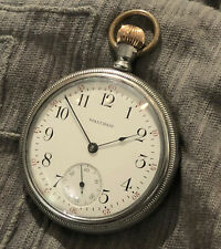 Nice Waltham 16S 1908 grade 610 USA Pocket Watch, working.