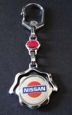 Schlüsselanhänger NISSAN Automobile Logo Metall oldschool keyholder 90er