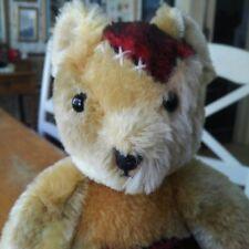 1990's Mohair Le Sigikid Teddy Bear United Europe Bear, 15+ inches, Euc