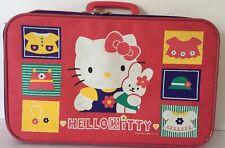 Vintage (1996) Hello Kitty Luggage Childrens Suitcase SANRIO RARE