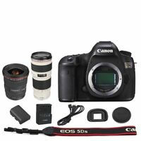Canon EOS 5DS DSLR Camera Body + EF 17-40mm f/4L USM + 70-200mm f/4L Lens