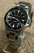 HAMILTON Khaki Navy Scuba Men's Watch H823350, Black Dial 10 Bar / 100 Meter