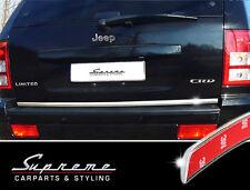 JEEP GRAND CHEROKEE WH CROMO Ornamentali Barra 3m CROMO barra TUNING BARRA POSTERIORE