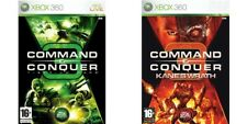 Command & Conquer Tiberium Wars und Kanes Wrath Xbox 360 PAL Format