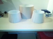 Dunelm Ceiling Shade and 2 Lamp Shades- Olive Green - Excellent Condition