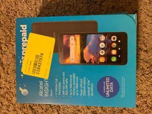 "At&t Prepaid Alcatel Insight 5005R 5"" 4g LTE"