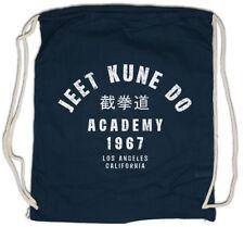 JEET KUNE DO ACADEMY Drawstring Bag Bruce Martial Arts Lee China chinese Jun Fu