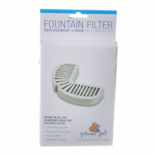LM Pioneer Replacement Filters for Stainless Steel and Ceramic Fountains 3 Pack