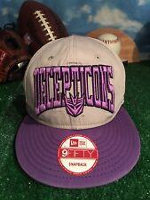 1d565291508 Transformers Decepticons new era 950 9fifty Snapback adjustable hat cap H41