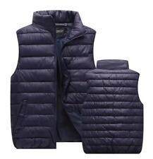 Fashion Winter Men's Down Cotton Waistcoat Padded Jacket Vest Warm Coats Outwear