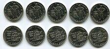 Portugal 1995 200 Escudo Unc Afonso D Albuquerque Melaka 1511 Malaca X 5 Pc Coin