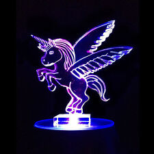 Unicorn Flashing Night Light - Small Novelty Light - Great Gift for Kids