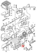 Genuine Repair Set For Intake Manifold Rear AUDI VW A4 Avant S4 078198667