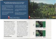 Echte postfrische schweizer Briefmarken und Natur