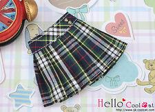☆╮Cool Cat╭☆28.【PE-01N】Blythe/Pullip Accordion Short Skirt # Stripe Deep Blue